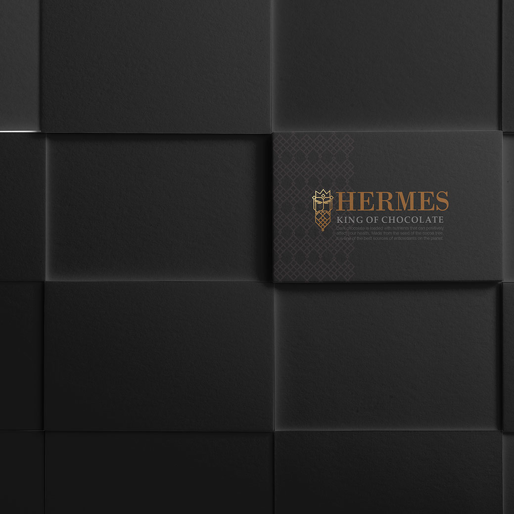 Hermes Chocolate Logo